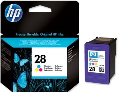 HP 28 (C8728AE) color Originál Originální cartridge HP28 - barevná