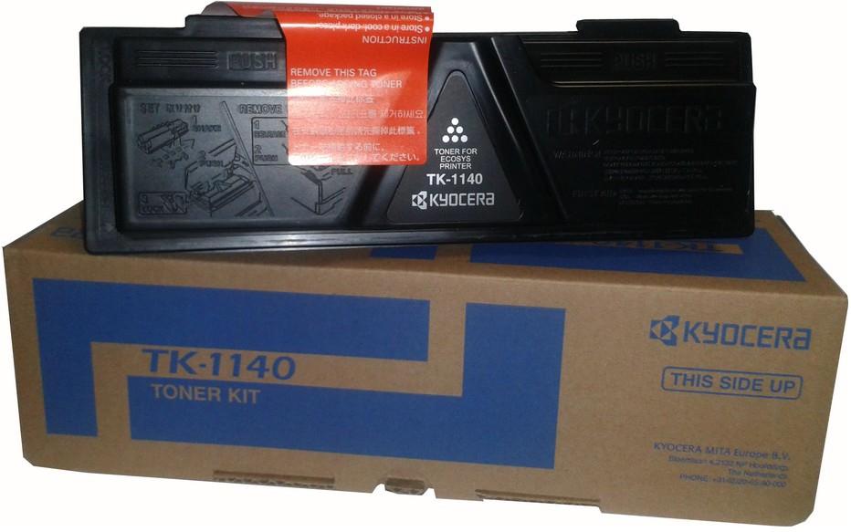 Kyocera TK-1140 black Original Originální toner Kyocera TK1140 - černý
