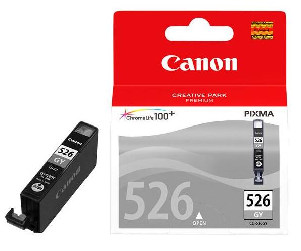 Canon CLI-526GY grey originál Originální cartridge CLI526 GY - šedá