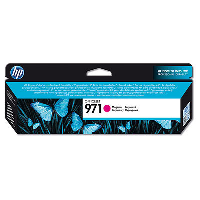 HP CN623AE (HP 971) magenta original Originální cartridge HP CN 623 AE (HP 971) - purpurová