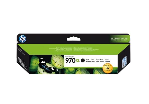HP CN625AE (HP 970xl) black original Originální cartridge HP CN 625 AE (HP 970xl) - černá