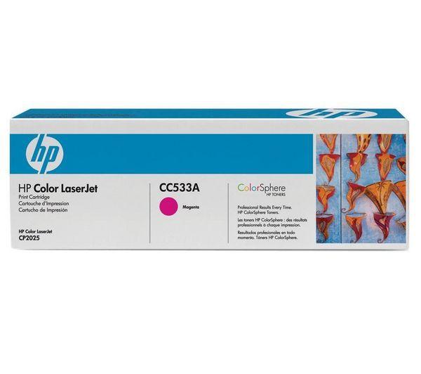 HP CC533A (HP 304A) magenta Originál Originální cartridge HPCC533A (HP304A) - purpurová