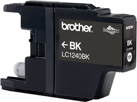 Brother LC-1240Bk black Original Originální cartridge Brother LC 1240 Bk - černá