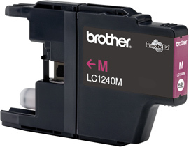 Brother LC-1240M magenta Original Originální cartridge Brother LC 1240 M - purpurová