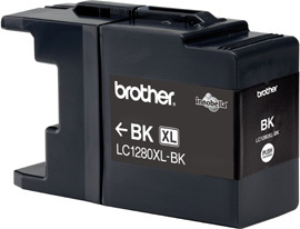 Brother LC-1280xlBK black Original Originální cartridge Brother LC 1280 xlBK - černá