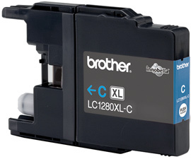 Brother LC-1280xlC cyan Original Originální cartridge Brother LC 1280 xlC - azurová