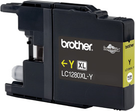 Brother LC-1280xlY yellow Original Originální cartridge Brother LC 1280 xlY - žlutá