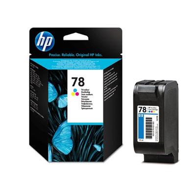 HP 78 (C6578DE) color Originál Originální cartridge HP78 (C6578D) - barevná