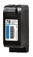 HP 78 (C6578DE) color - renovace Repasování vaší prázdné cartridge HP78 (C6578D)