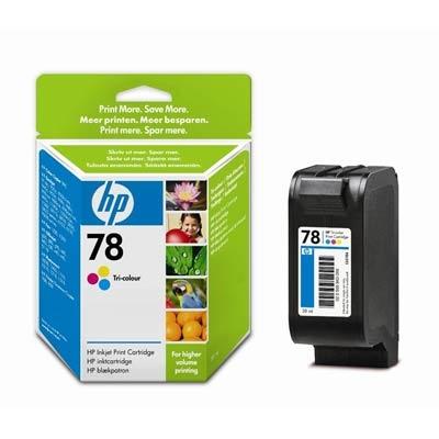 HP 78 XL (C6578AE) color Originál Originální cartridge HP 78xl (C6578A) - barevná