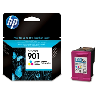 HP 901 (HP CC656AE) color original Originální cartridge HP901 (HP CC 656 AE) - barevná