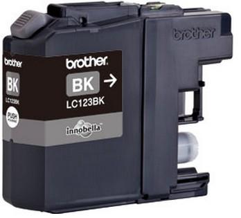 Brother LC-123Bk black Original Originální cartridge Brother LC-123 Bk - černá