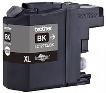 Brother LC-127XLBk - black Original Originální cartridge Brother LC-127 XLBk - černá