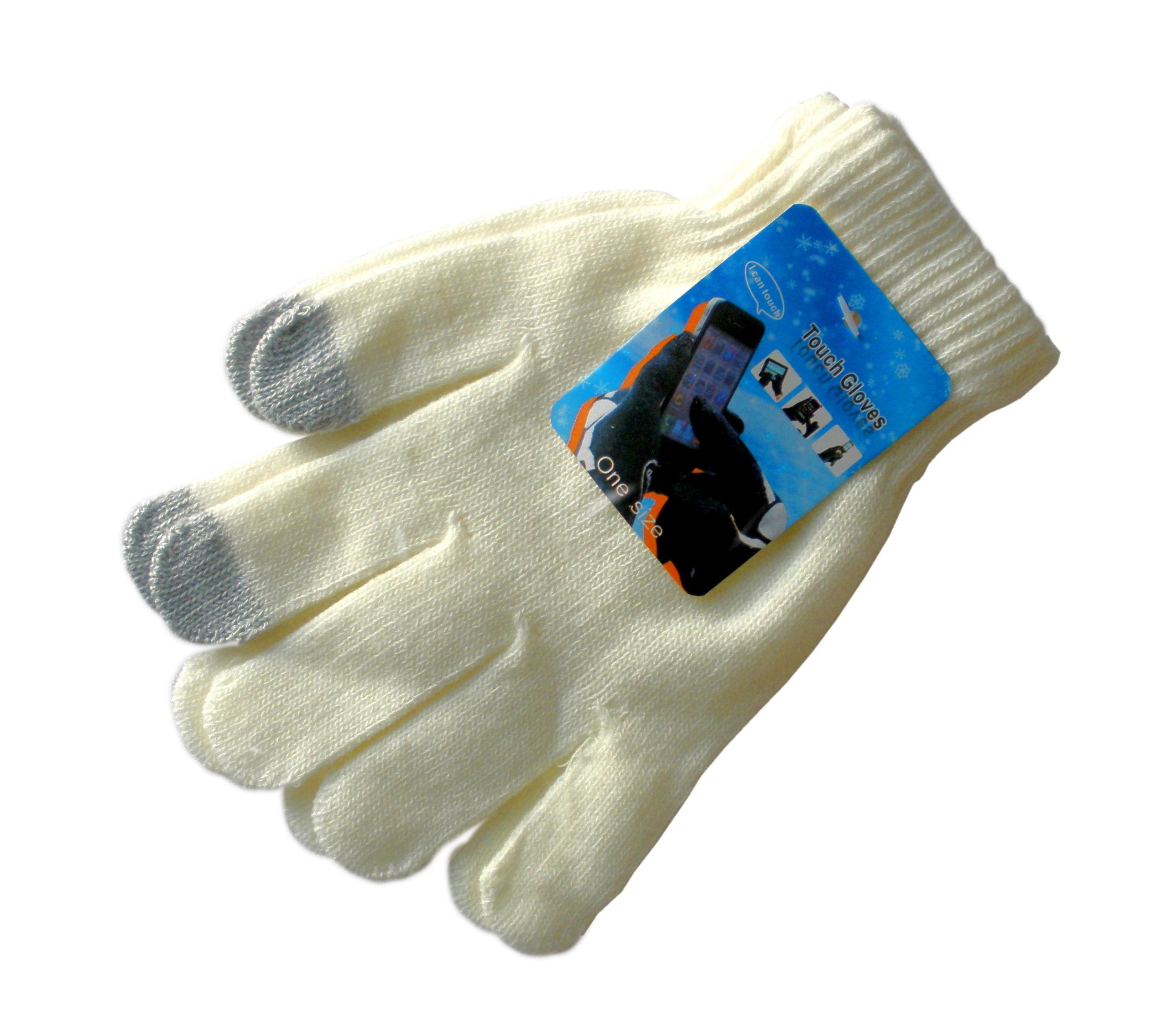 Rukavice pro dotykové LCD displeje Dotykové rukavice pro smartphony