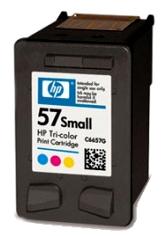 HP 57 small (C6657GE) color - renovace Repasování vaší prázdné cartridge HP57 (CH6657G)