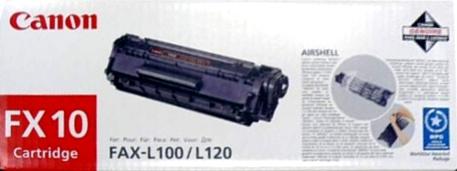 Canon FX-10 black Originál Originální cartridge Canon FX10 - černá