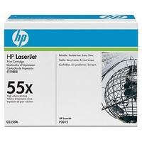 HP CE255X (HP 55X) black Original Originální toner HP CE255X (HP 55X) - černý
