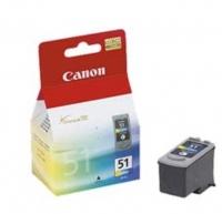 Canon CL-51 color original Originální inkoustová cartridge Canon CL-51 - barevná