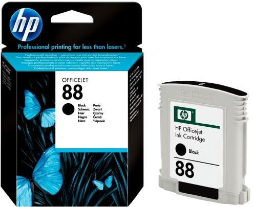 HP 88 (C9385AE) black Originál Originální cartridge HP88 (C9385AE) - černá
