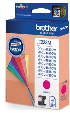 Brother LC-223M - purpurová - originál Originální cartridge Brother LC 223M