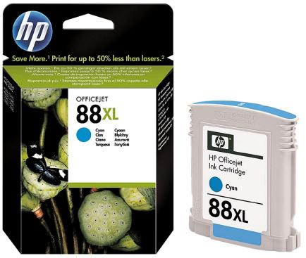 HP 88 XL (C9391AE) cyan Originál Originální cartridge HP 88xl (C9391A) - azurová