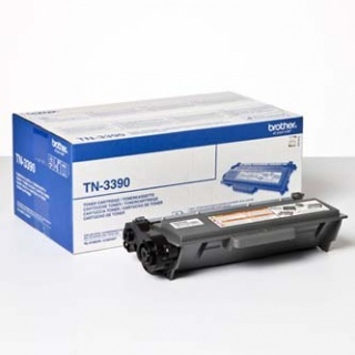 Brother TN-3390 black original Originální toner Brother TN3390 - černý