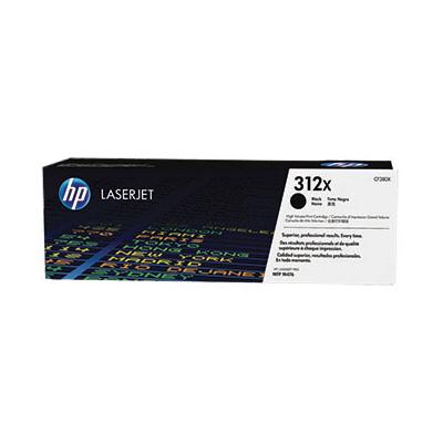 HP CF380X (HP 312X) - black original Originální toner HP CF 380X (HP312X) - černý