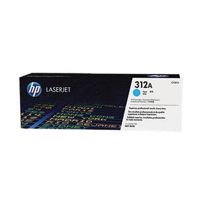 HP CF381A (HP 312A) - cyan original Originální toner HP CF 381A (HP312A) - azurový