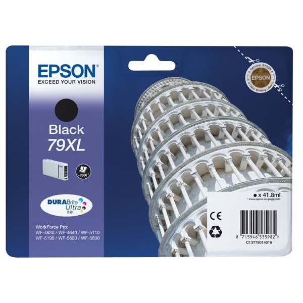 Epson 79xl (C13T79014010) black original Originální cartridge Epson 79xl - černá