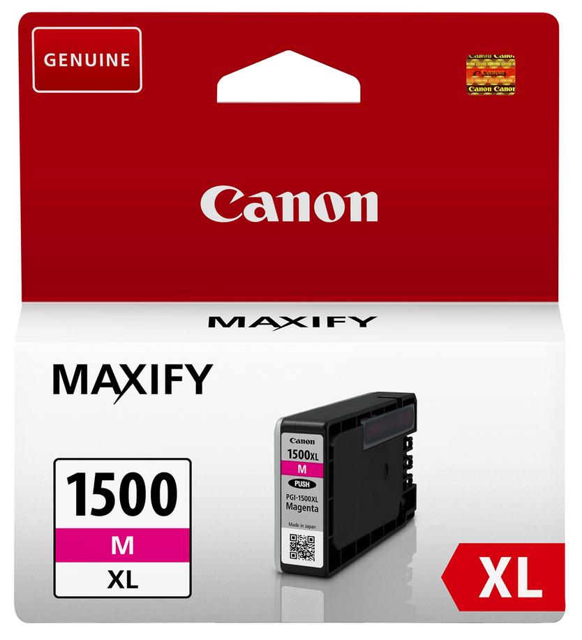 Canon PGI-1500xl magenta Originální cartridge Canon PGI1500 xl - purpurová
