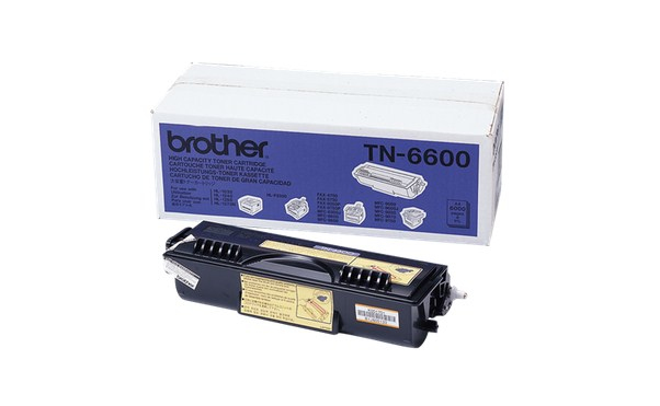 Brother TN-6600 black original Originální cartridge Brother TN6600 - černá