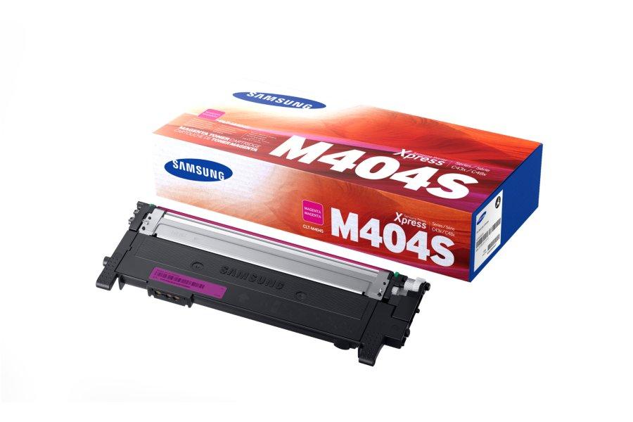 Samsung CLT-M404S magenta original Originální cartridge Samsung CLT-M404S - purpurová