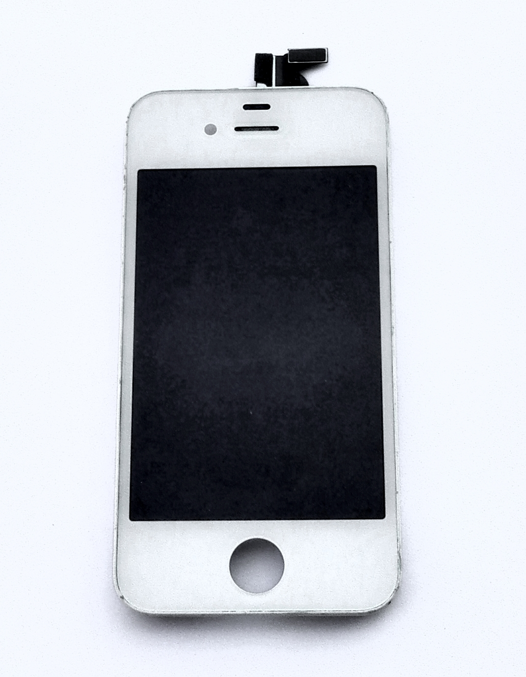 LCD displej iPhone 4 komplet bílý - použitý Display Apple iPhone 4 včerně rámečku a skla