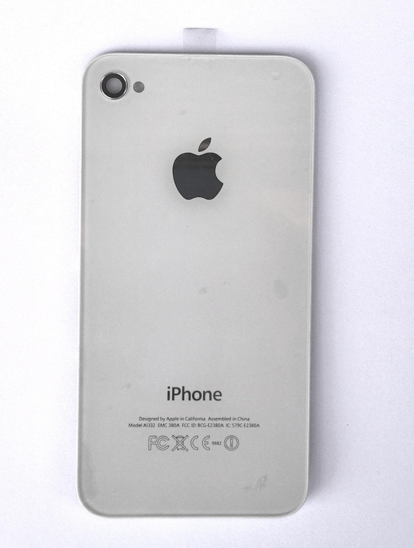 Zadní kryt Apple iPhone 4 bílý Kryt baterie pro iPhone 4