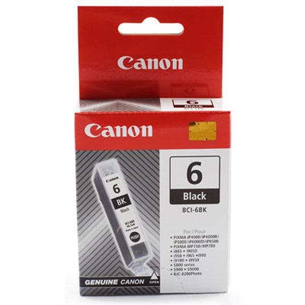 Canon BCI-6Bk - black Originál Originální inkoust Canon BCI6 Bk - černý