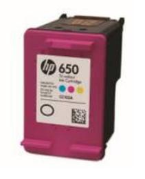 HP 650 (HP CZ102AE) color repas Renovace vaší prázdné cartridge HP650 (HP CZ102AE) - barevná