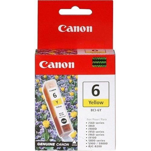 Canon BCI-6Y yellow Originál Originální inkoust Canon BCI6 Y - žlutý