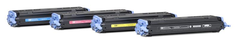 HP Q6002A (HP 124A) yellow Compatible Kompatibilní cartridge HPQ6002A (HP124A) - žlutá