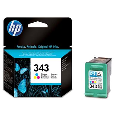 HP 343 (HP C8766EE) color Originál Originální cartridge HP343 (C8766E) - barevná