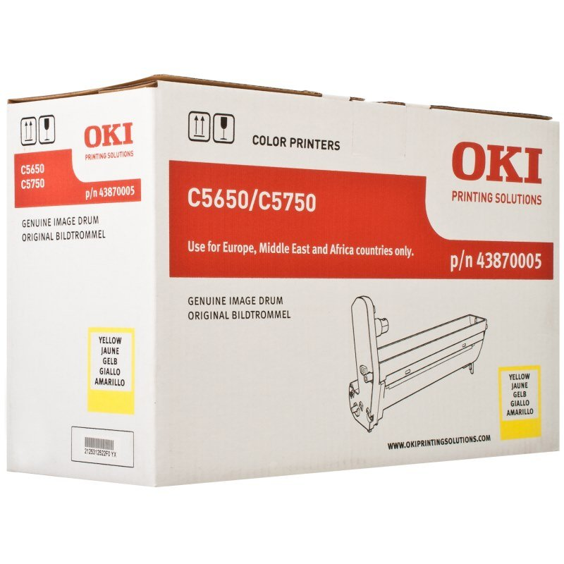 OKI 43870005 Drum - yellow original