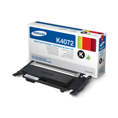 Samsung CLT-K4072S black Originál Originální cartridge Samsung CLTK4072S - černá