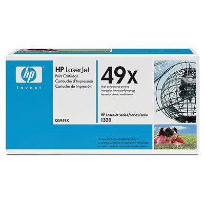 HP Q5949X (HP 49X) black Originál Originální cartridge HP Q5949X - černá