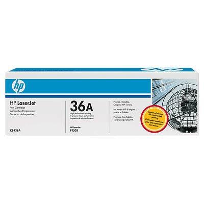 HP CB436A (HP 36A) black Originál Originální cartridge HP CB 436A - černá
