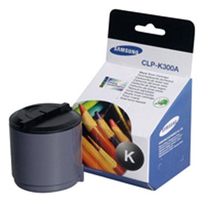Samsung CLP-K300A black Originál Originální cartridge Samsung CLP K300A - černá