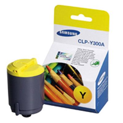 Samsung CLP-Y300A yellow Originál Originální cartridge Samsung CLP Y300A - žlutá