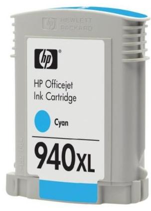 HP C4907AE (HP 940 XL) cyan - renovace Repasování vaší prázdné cartridge HP C4907 AE (HP940xl)