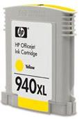 HP C4909AE (HP 940 XL) yellow - renovace Repasování vaší prázdné cartridge HP C4909 AE (HP940xl)