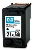 HP 21 XL (C9351CE) black - renovace Repasování vaší prázdné náplně HP 21xl
