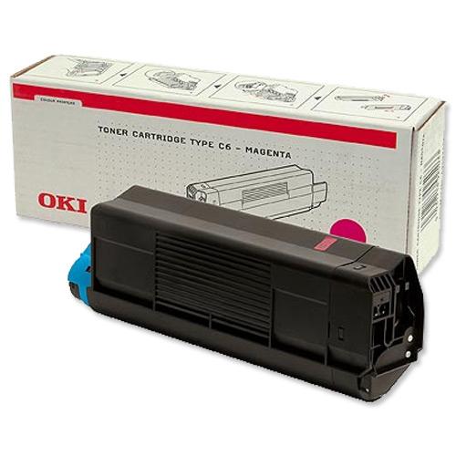 OKI 43034806 magenta Originál (1500 stran) Originální toner OKI 43034806 - purpurový