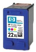 HP 22 XL (C9352CE) color - renovace Repasování vaší prázdné náplně HP 22xl